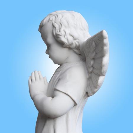angelo custode: piccolo angelo custode Archivio Fotografico