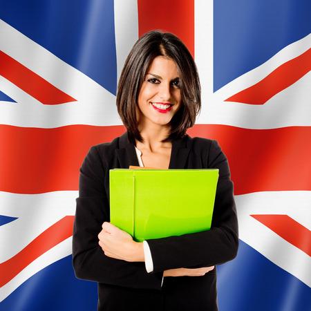 Engels leren van talen Stockfoto - 33086562