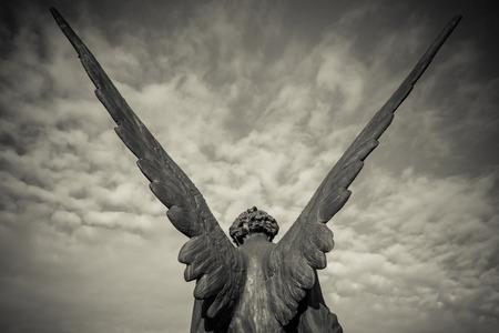 ange gardien: ange gardien Banque d'images