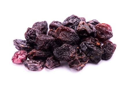 dried raisins fruit isolated on white background photo
