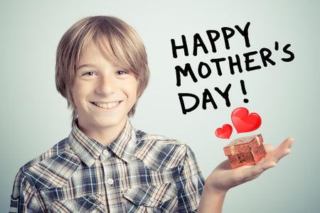幸福的母親 版權商用圖片