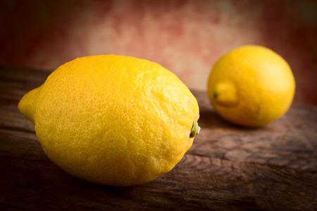 감귤류의 과일: lemons citrus fruits 스톡 사진