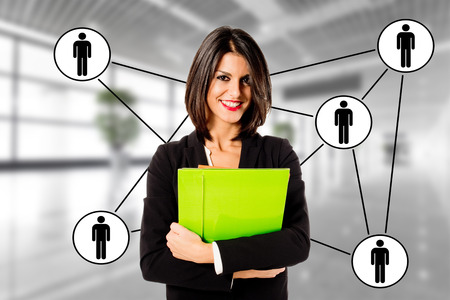 行政商務女人的關係 版權商用圖片 - 40977026