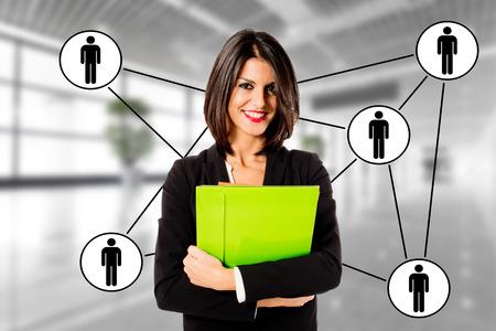 Executive Business Frau-Beziehungen