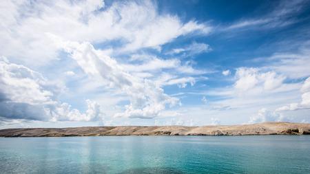 croatian: sky over the island  Croatian sea