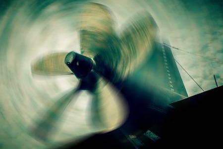 propulsion: war submarine propulsion  blurred style photo