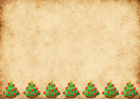 xmas background: horizontal xmas background