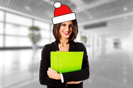 customer: Customer care greetings for christmas Stock Photo