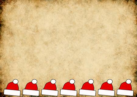 xmas background: horizontal xmas background