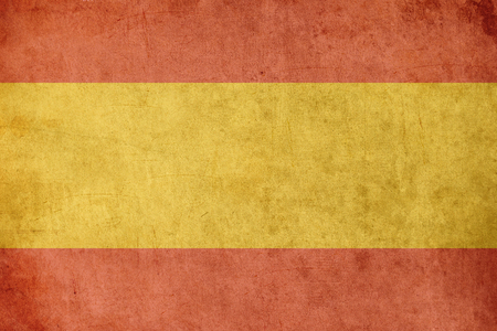 old flag: spanish flag retro grunge background