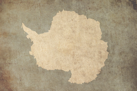 oldstyle: antarctica flag retro grunge background