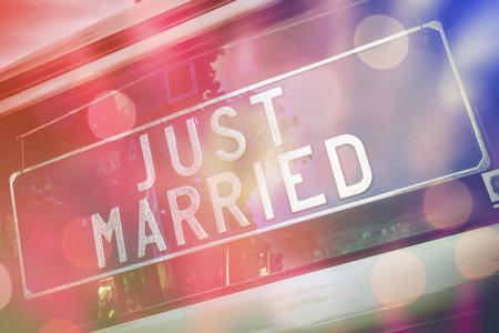 recien casados: recién casado