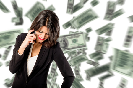 gain: gain money Stock Photo