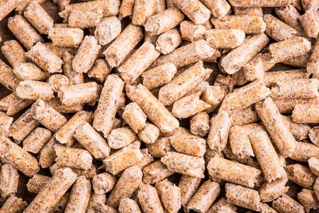 wood pellet production Zdjęcie Seryjne