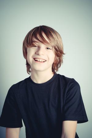 schoolboy: happy schoolboy