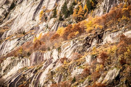 granite: granite rocky wall