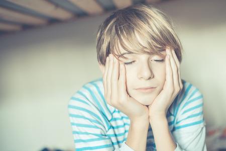 an awakening: an ordinary day - schoolboy awakening