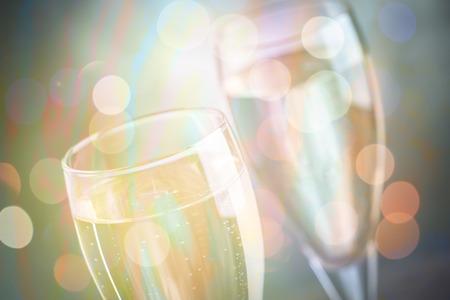 celebrating toasting with wine