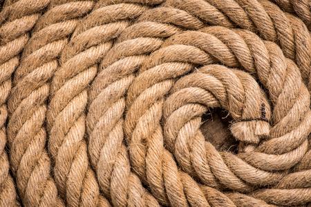 hemp rope spiral - origination concept