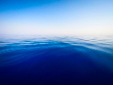 平靜的海水背景 - 夏天海 版權商用圖片