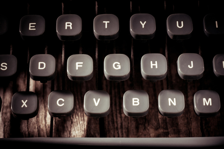 vintage typewriter - vintage style photo 版權商用圖片