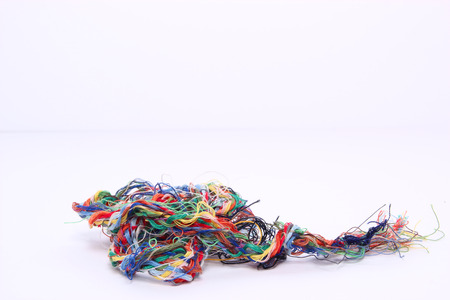 creativeness: colored wire for sew