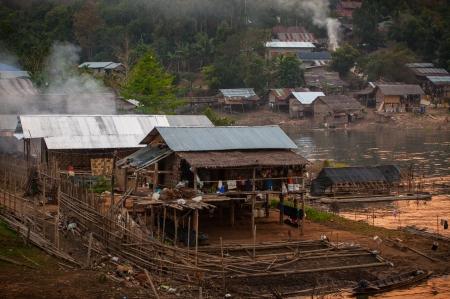 sangkhla buri: Countryside Stock Photo
