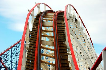 Rollercoaster bend photo