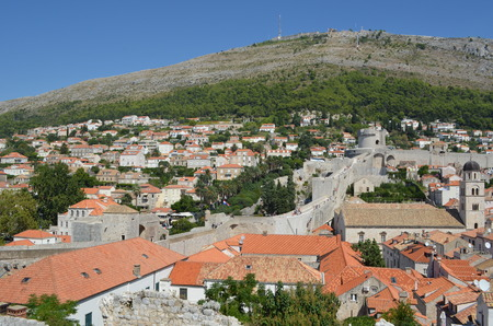 Old Town Dubrovnik and city Wall