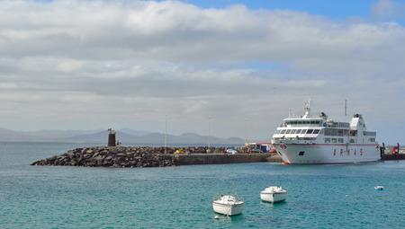 Canary Island Ferry Sails from Playa Blanca Lanzarote and Corralejo Fuerteventura