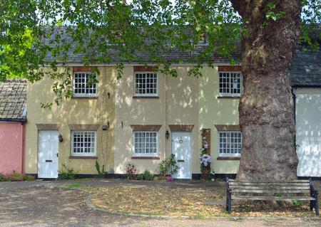 cambridgeshire: Terrace cottages at Hemmingford Abbots.