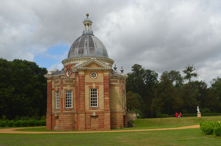 wrest: The Thomas Archer Pavillion at Wrest Park Silsoe Bedfordshire. Editorial