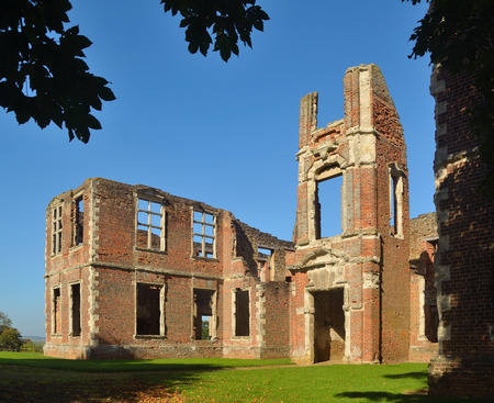 jacobean: Houghton House with views of Bedford and Marston Vale.
