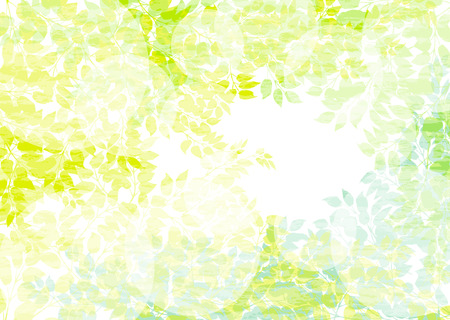 Background of sunshine filtering through foliage from trees Vector
