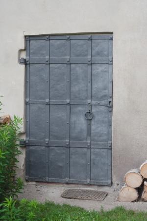 irony: A very old irony door