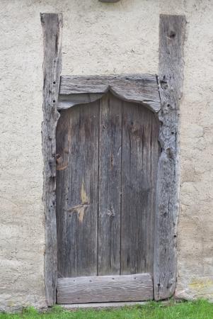 A very old wooden door Stock Photo - 17070178