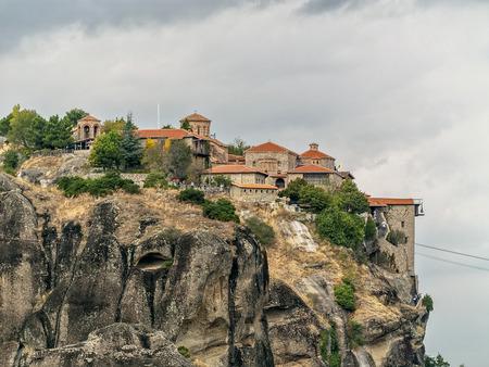 kalampaka: Monastery on cliff