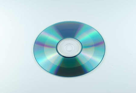 CD-ROM on white background Stock Photo - 7304472