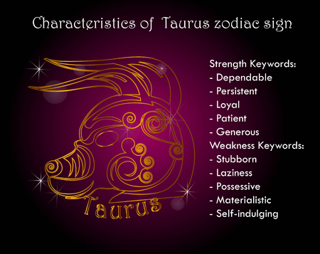 Characterestics of taurus zodiac sign