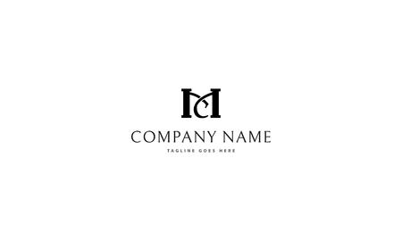 MC letter logo