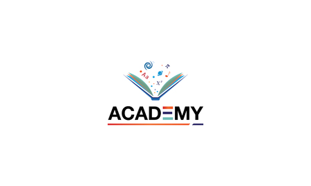 The logo depicts an abstract image of a book from which symbols relating to various scientific subjects emerge embodying learning.