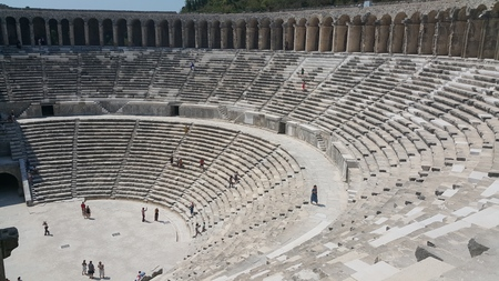 the ancient theater