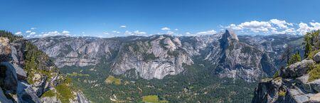Panoramic view of the Yosemite Valley. Arizona