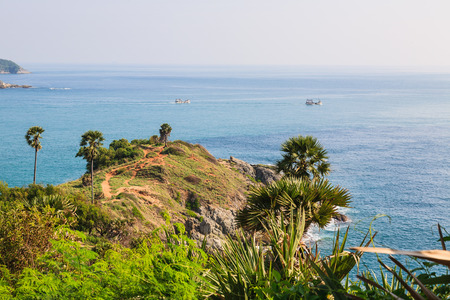 Laem Phromthep is the one of most important and popular place of Phuket province , Thailand