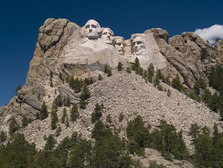 Mount Rushmore With Deep Sky Imagens - 2220443