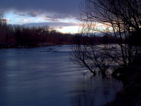 south platte river: Cold River  - the South Platte River in Eastern Colorado.