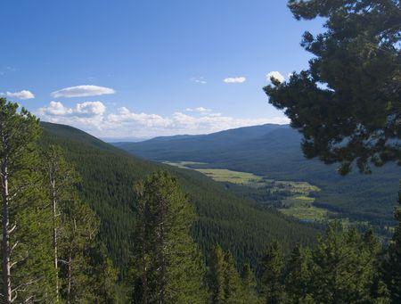 Kawuneeche Valley - Rocky Mountain National Park