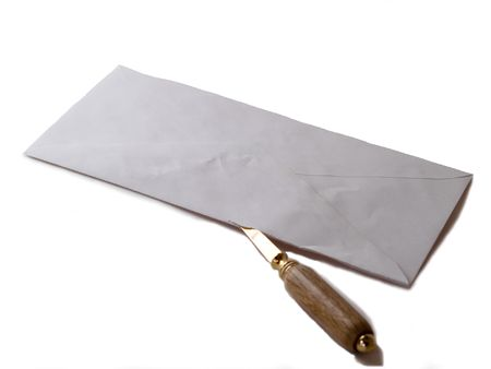 Letter Opener & Envelope