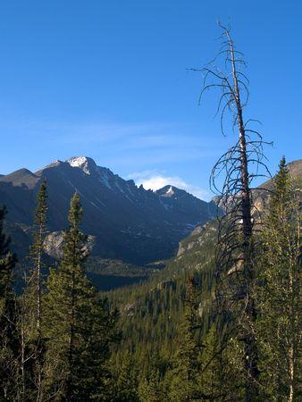 longs peak: Longs Peak - Rocky Mountain National Park