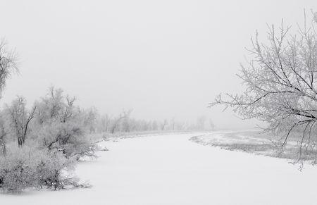 James River in White - South Dakota Stock Photo - 2374842